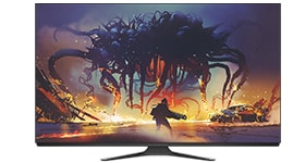 ALIENWARE 55 OLED GAMING MONITOR | AW5520QF