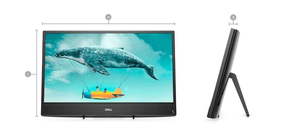 Inspiron 22 Inch 3280 All-in-One Desktop Computer | Dell Thailand