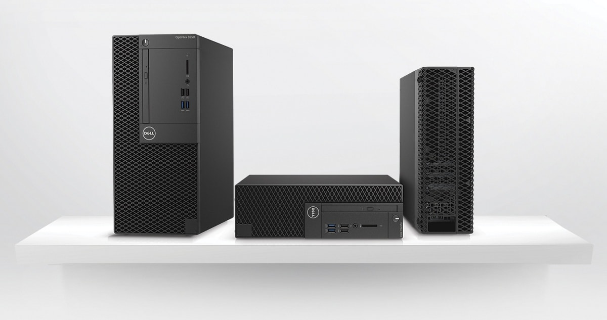 Optiplex 3050 Desktop - Thoughtfully designed