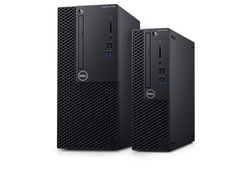 OptiPlex 3060 Tower and Small Form Factor