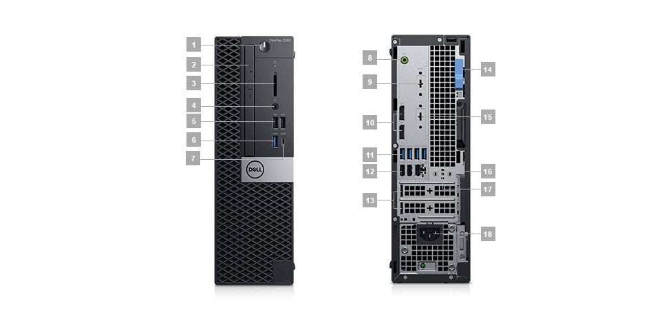 OptiPlex 5060 commercial Tower and Small Form Factor | Dell