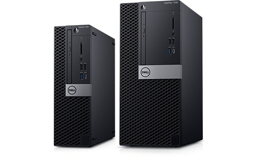 Optiplex 7000 Series Mini-Tower & Small Form Factor Desktop