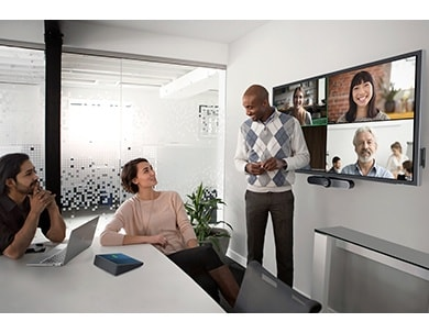 Improve your conference room experience with Zoom Rooms