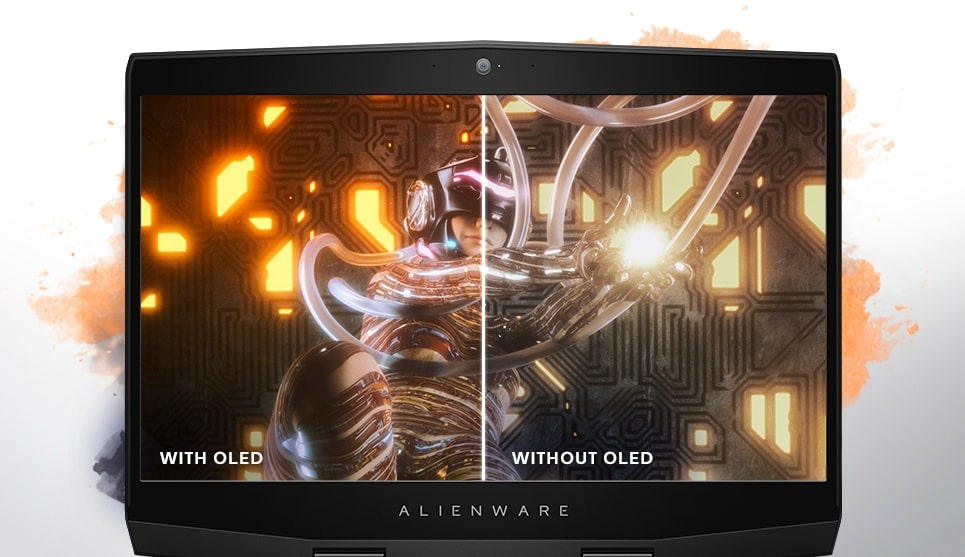 Alienware m15 OLED Panel