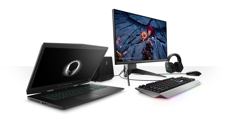 Alienware m17 Gaming Laptop-accesories and services