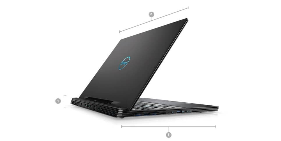 New Dell G7 15 Gaming Laptop - DIMENSIONS & WEIGHT
