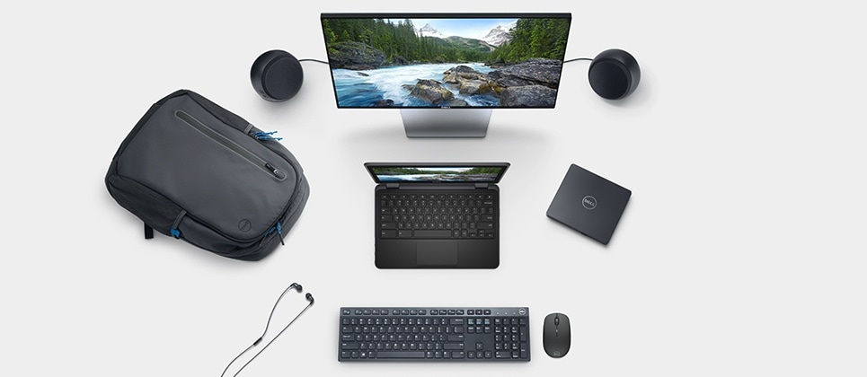 Mobile essential accessories for your Inspiron Chromebook 11.