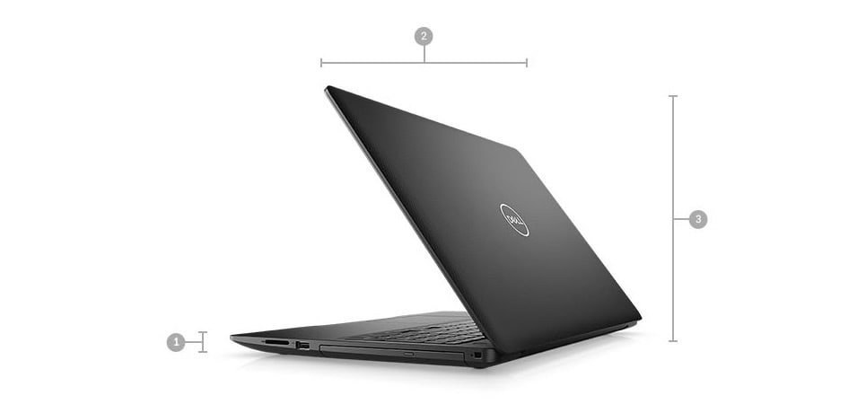 inspiron-15-3580-laptop - Dimensions & Weight