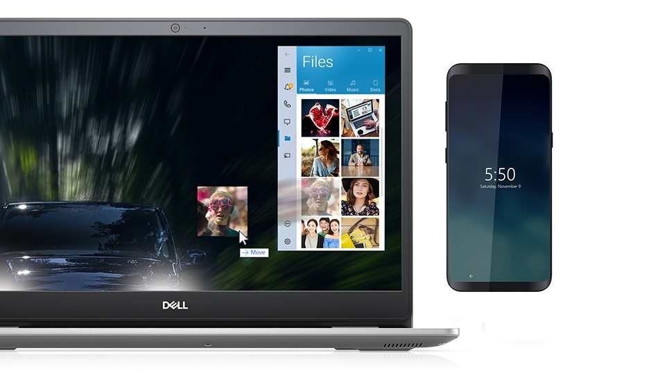 Unite your devices with Dell Mobile Connect.