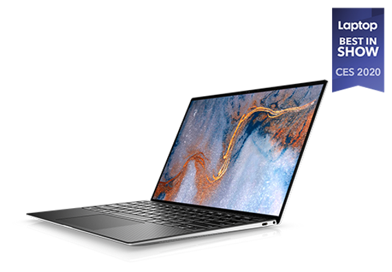 "Dell XPS 13 (9300) 13.4"" UHD+ Laptop (Quad i7-1065G7 / 8GB / 256GB SSD)"