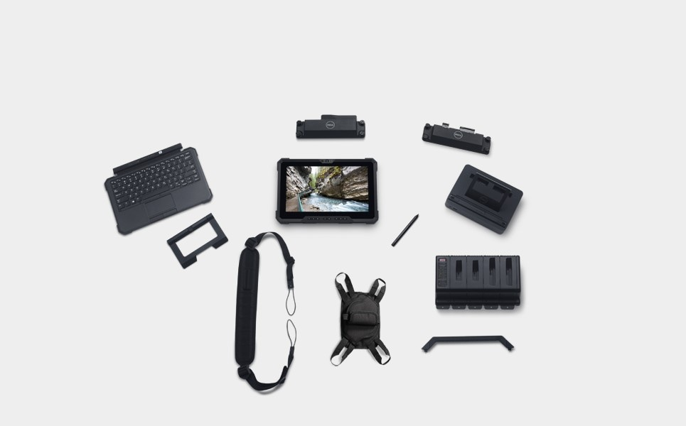 Latitude 7220 Rugged Extreme Tablet Moodboard