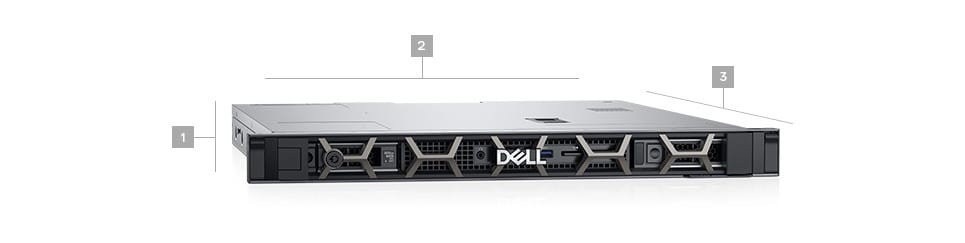 DELL PRECISION 3930 RACK (Xeon E-2124, 32GB, 2x2TB NVIDIA Quadro P400,
