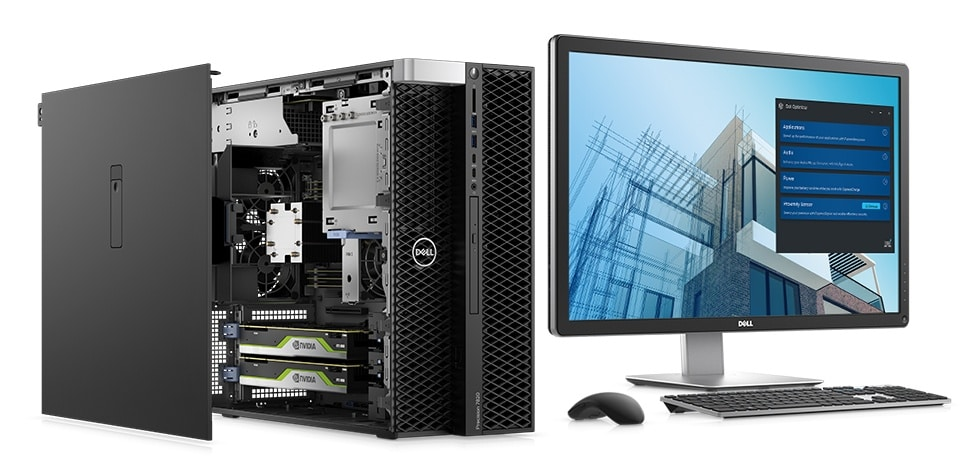 Precision 7820 Tower Workstation With Intel 10th Gen Cpu Dell Usa