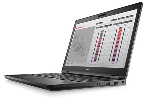 Notebook Precision Serie 3000, Modelo 3530