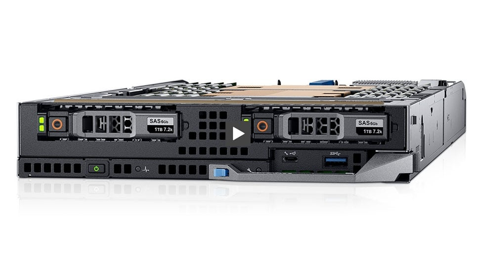 The PowerEdge FC640 Server