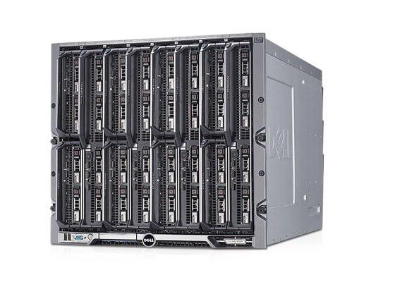 PowerEdge M1000e-serverkabinet