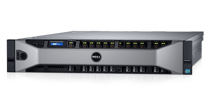 الخادم طراز PowerEdge - R830 من Dell