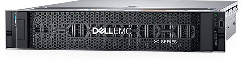 Dispositivo convergente de escala web XC de Dell EMC