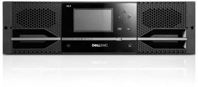 Dell EMC ML3/ML3E Tape Library and Expansion - Big Capacity, Small Space