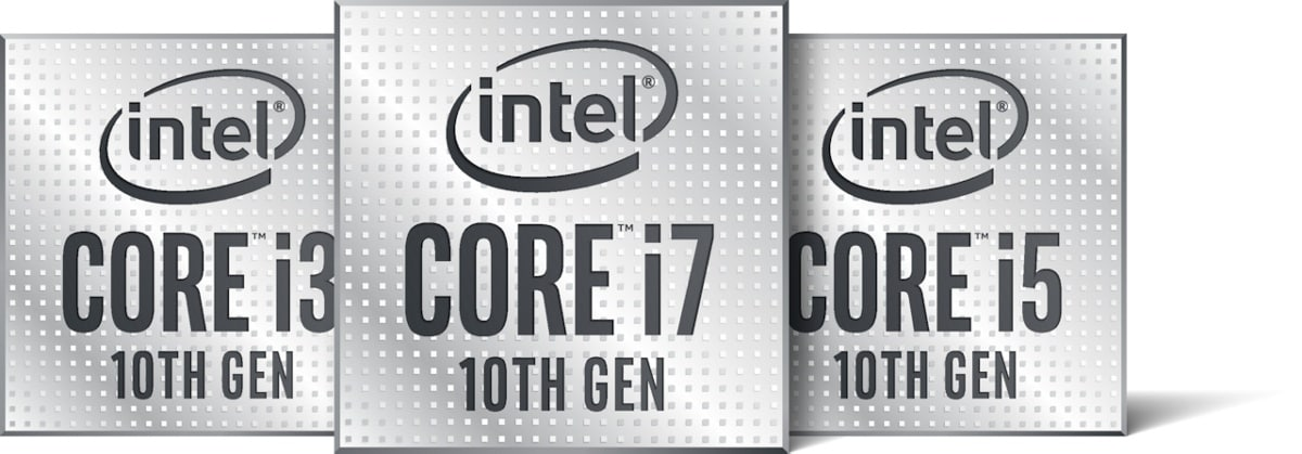 Intel Core 10th gen family logo