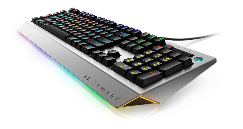 Alienware pro gaming keyboard AW768 - Otherworldly beauty