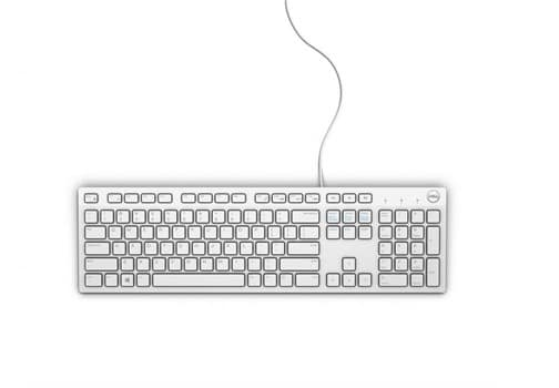 Dell Multimedia Keyboard-KB216 - UK (QWERTY) - White