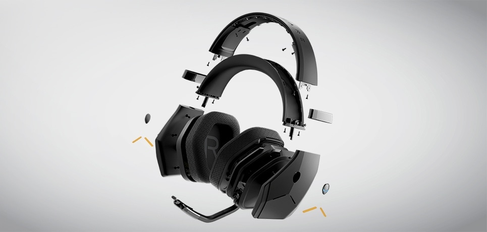 Alienware Wireless Gaming Headset AW988 - Iconic by design