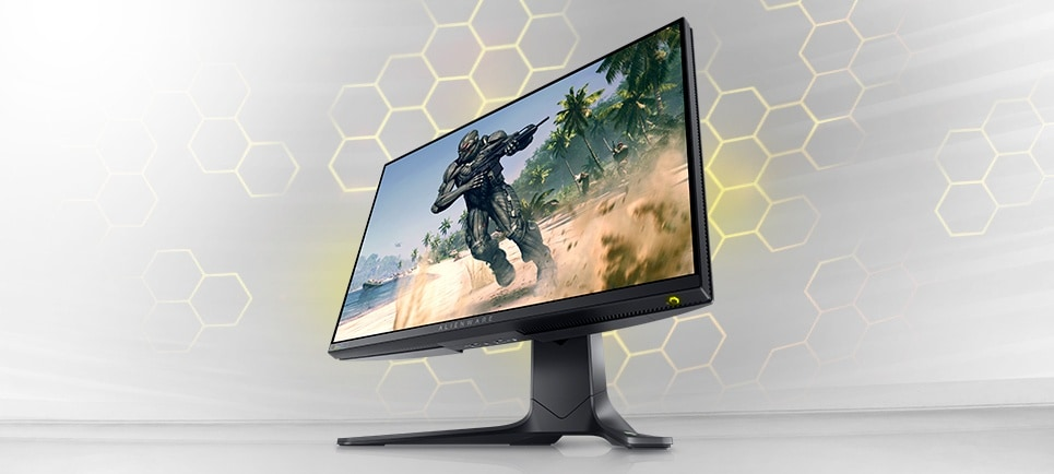 Experience Alienware's fastest monitor