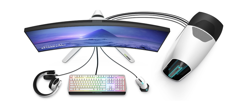Essential accessories for your Alienware Gaming Monitor.