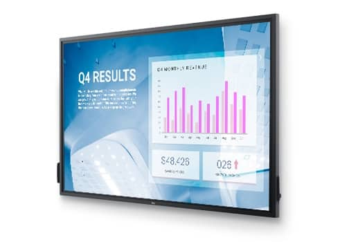 Dell 86 4K Interactive Touch Monitor: C8621QT