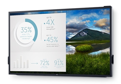Dell 86 Interactive Touch Monitor: C8618QT