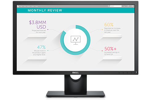 Dell Refurbished 23 inch Monitor - E2318H