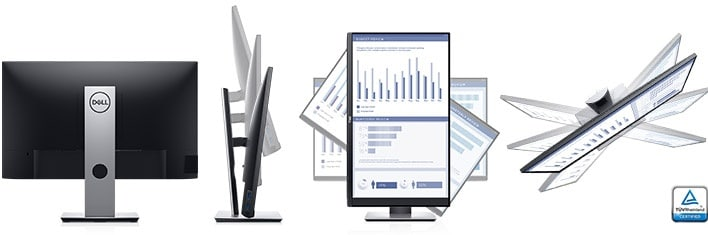 Dell P2719H Monitor - Designed to fit the way you work