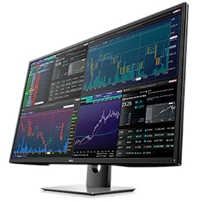 Dell 43 Ultra HD 4K Multi Client Monitor - P4317Q