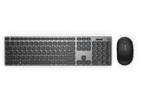 Dell S2719DC Monitor - Dell Premier Wireless Keyboard and Mouse Combo | KM717