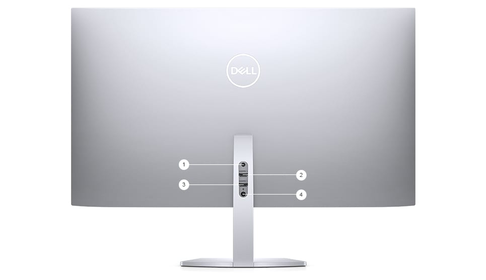 Dell S2719DM Monitor - Connectivity options