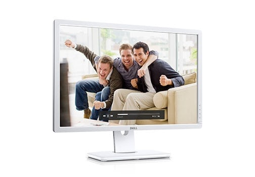 Dell UltraSharp 24 Monitor: U2412M White