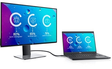 Dell U2419HC Monitor - Ultimate connectivity