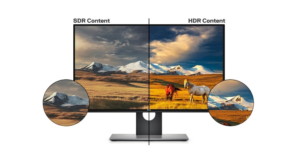 Dell U2518D Monitor - Lifelike visuals