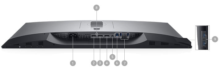 dell-u2719d-monitor - Connectivity Options