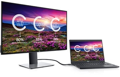 Écran Dell U2719DC : connectivité optimale