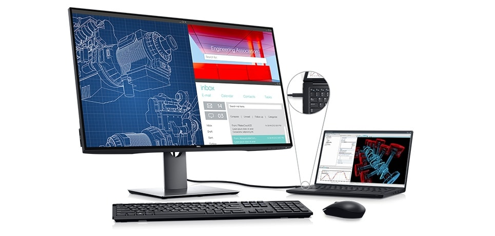Dell U3219Q Monitor - Easy to use. Efficient to manage.