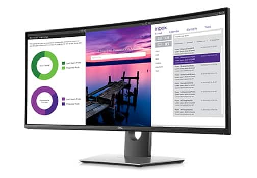 Dell UltraSharp 34 gewölbter USB-C-Monitor: U3419W