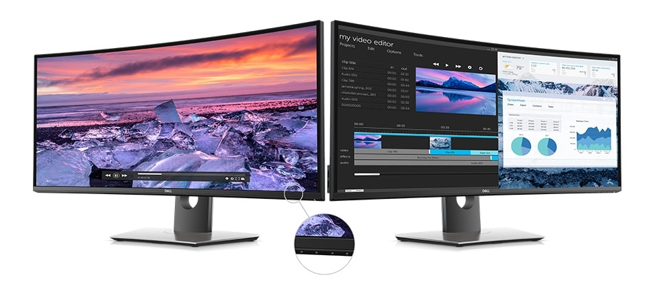 Dell U3419W Monitor: Screen performance that shines