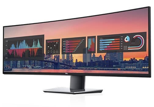 Monitor curvo Dell UltraSharp 49: U4919DW