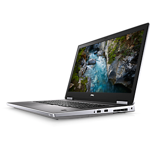 Precision 7740 Mobile Workstation Business Laptop - w/ 9th gen Intel Core - 17.3'' HD screen - 8GB - 256G