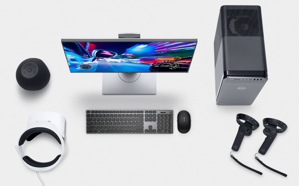 XPS 8930 VR Ready Desktop with 8th Gen Intel Processor | Dell Middle