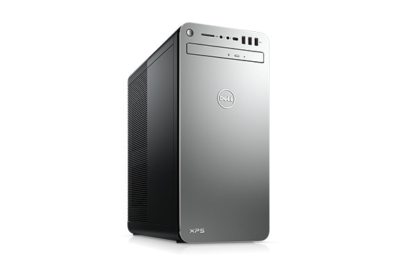 Dell XPS Tower Desktop with Intel Hex Core i3-8100 / 8GB / 1TB / Win 10 (Black)