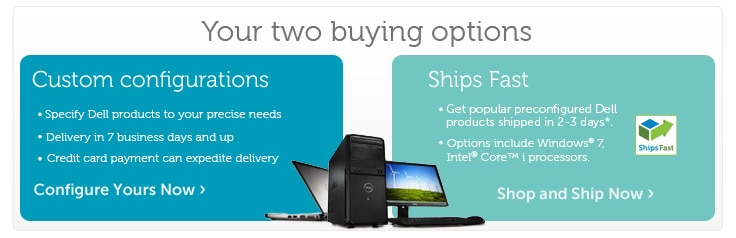 Estimated delivery times for SMB products | Dell Ireland