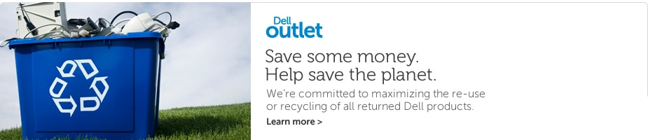 Why Dell Outlet?